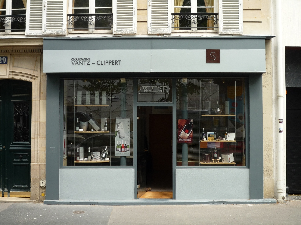 Boutique Paris Champagne Vantz Clippert